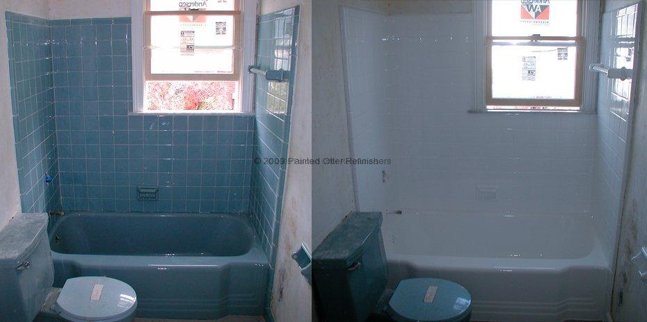 Before Amp After 171 Bathtub Refinishing Tile Reglazing